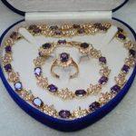 Women's Wedding shipping>Wonderful Earring Bracelet Ring Set real silver mujer fine quality silver-<b>jewelry</b>