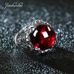 JIASHUNTAI Retro 100% 925 <b>Sterling</b> <b>Silver</b> Rings For Women Round Natural Precious Stones Vintage Thai <b>Silver</b> Ring <b>Jewelry</b> Gifts
