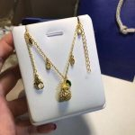 New Classic Brand Pure 925 Sterling Silver <b>Jewelry</b> For Women <b>Wedding</b> Summer pineapple Gold necklace Pendant high quality