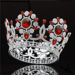 New Designs Baroque Pageant Crown Luxuries Beauty Bride Tiara <b>Wedding</b> accessories Prom Diadem Queen Headdress Women hair <b>jewelry</b>