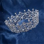 CC tiaras crowns round hairbands shine stones baroque style <b>wedding</b> hair accessories for women bride handmade fine <b>jewelry</b> HG695