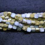 10mm Titanium Treatment Druzy Stone Necklace Beads Drusy Geode Gems Stone Teardrop Beads <b>Jewelry</b> <b>Making</b> for Fesitive Gift