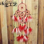 polycyclic pendant <b>jewelry</b> Dreamcatcher Home Furnishing hanging decoration feather gift