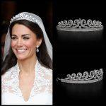 Kate & William Royal Rhinestone Crystal Wedding Hair Crown Tiara hair <b>jewelry</b> crown wedding crystal hair accessories hair bands