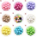 20MM 100Pcs/Lot Choose Colors Fashion Beads Chunky Bubblegum Resin Rhinestone Beads Ball For Kids Girl <b>Jewelry</b> <b>Making</b>