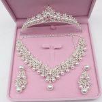 Luxurious Pearl Wedding Bridal <b>Jewelry</b> Sets Tiara Crowns Necklace Earrings For Women Decorations Wedding <b>Jewelry</b> <b>Accessories</b>