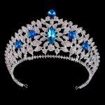 Luxury <b>Wedding</b> Crown Headdress for Women Headband Pageant Crowns and tiaras Head <b>jewelry</b> hair accessories Bride Diadem
