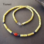 Yoowei Baltic Amber Necklace Factory Wholesale Genuine Original Beads Classical Styles Rare Natural Amber <b>Jewelry</b> Etsy Supplier