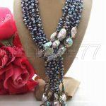Pearl&Paua Abalone Shell <b>Necklace</b> <b>Necklace</b>