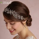 MEIDI Hair <b>Jewelry</b> Bridal Hair Accessories Headbands New Tiara Head Piece <b>Fashion</b> Hair Ornaments Wedding Party Tiaras Crowns