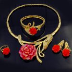 2018 Bohemian Fashion Multi-colored Rhinestone Oval Shape African Beads Wedding <b>Jewelry</b> Set for Women Earring Pendant <b>Necklace</b>