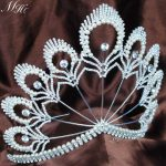 Awesome Beauty Pageant Tiara 5.5″ Headband Pearl Clear Crystal Crown <b>Wedding</b> Bridal Party Costumes Fashion Hair <b>Jewelry</b>