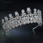 Classic Cubic Zirconia Big Royal <b>Wedding</b> Bridal Tiara Crown Diadem Women Girl Hair Accessories <b>Jewelry</b> HG1162