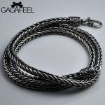 GAGAFEEL 100% 925 <b>Silver</b> Necklaces for Women Men <b>Jewelry</b> Accessorice S925 Thai Solid <b>Silver</b> Rope Long Chain <b>Jewelries</b> Necklaces