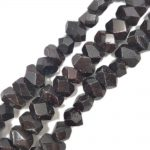 LiiJi Unique Natural Stone Garnet Faceted Loose Beads Appprox 12x15mm For DIY <b>Jewelry</b> <b>Making</b> approx 39cm