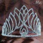Fantastic Tiara with Hair Combs Silver Wedding Bridal Crown Austrian Rhinestones Crystal Headband Pageant Party Hair <b>Jewelry</b>