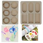 12 Cavity DIY Soy Candles Aroma Wax Tablets Silicone Mould Handmade Dried Flowers Resin Mold Soap Molds <b>Jewelry</b> <b>Making</b> Mold Tool