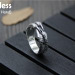 Uglyless Real S 925 Sterling Silver Men Cool Dragon Claw Rings Exaggerated Vintage Thai Silver Open Finger Ring <b>Handmade</b> <b>Jewelry</b>
