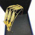 Wheat Spike Tiara Bride Crown Headband <b>Wedding</b> Hair Accessories Hairband Diadem <b>Jewelry</b> Bandeau Bijoux Cheveux Coroa WIGO1210