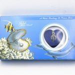 10SET holiday Gift Love Wish Pearl Kit Heart Cage 17″chain <b>Necklac</b> Seashells
