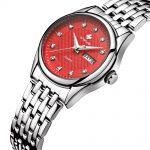 WWOOR 2017 New Women Watches Brand Luxury Waterproof Date Clock Ladies Quartz Sports Wrist Watch Women <b>Silver</b> <b>Bracelet</b> relogio