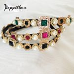 New Hairband Baroque Luxury Crystal Headband Brand Headdress <b>Fashion</b> Pearl Hair <b>Jewelry</b> for Women