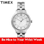 2018 Sale Limited For Timex Women Watches Peyton Tw2r282 Simple Quartz Steel <b>Silver</b> Casual Back Light Waterproof Female Watch