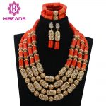 Stunning! <b>Native</b> <b>American</b> Style Coral Beads Necklace Set New Accessories Fashion African <b>Jewelry</b> Set CNR668
