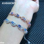 KJJEAXCMY Fine <b>jewelry</b> Natural stone bracelet bracelet wholesale <b>supply</b> factory, 925 Sterling Silver Inlay