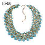 Kinel 2016 Gold Fashion <b>Jewelry</b> Luxury <b>Handmade</b> Necklaces For Women Bohemia <b>Jewelry</b> 3 Colors Choose