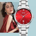 BINZI Watch Women's Watches Quartz <b>Bracelet</b> Clock Woman Relogio Feminino Gold <b>Silver</b> Wrist Watch Montre Femme Female Wristwatch