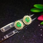 SHILOVEM 925 sterling <b>silver</b> Natural Emerald classic fine Jewelry Customizable women wedding women wholesale new le040501agml