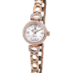 Royal Crown Jewelry Watch 6536S Italy brand Diamond Japan MIYOTA Rose gold <b>Silver</b> <b>bracelet</b> 19mm Claw set Soviet drill