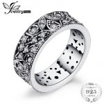 Jewelrypalace 925 Sterling <b>Silver</b> Hollow-out Flower Statement Ring Gifts For Women Anniversary Gifts Fashion <b>Jewelry</b> New