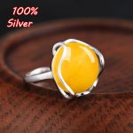 Pure Sterling Silver Ring Blank for Women New type of wax market diy with amber turquoise sapphire Ring <b>Accessory</b>