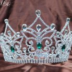 Butterfly Wedding Bridal Tiaras Large Pageant Crowns 14.5CM Rhinestones Crystal Prom Party Costumes Headband Hair <b>Jewelry</b>
