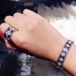 Designer Fashion 925 <b>sterling</b> <b>silver</b> <b>Jewelry</b> 3A Cubic Zirconia Party clover bracelet,famous brand imitation full flower bangle