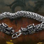 Genuine 925 sterling silver <b>jewelry</b> <b>handmade</b> original Thai silver retro domineering dragon New bracelets men's <b>jewelry</b>