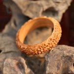 high quality peach Bracelet female <b>handmade</b> carved wooden bracelet women <b>Jewelry</b> girls Bracelet folk style female lovers gift