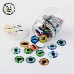 1 Box Flatback Half Round Dome Glass Cabochons Findings for DIY <b>Jewelry</b> <b>Making</b> Mixed Color, 10x4mm ,12x4mm,25x7mm;