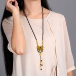Natural <b>Jewelry</b> Necklace Stone Party Accessories <b>Handmade</b> Jewelery Gift Necklaces & Pendants Fashion Choker Chain