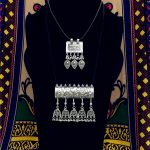 The Ancient <b>Silver</b> Pendant <b>Necklace</b> Of The Jewish Nomadic People Handmade Exaggerated Antique Fringed <b>Necklaces</b> India Gipsy BOHO