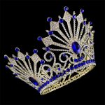 High Quality Bride Tiaras and Crowns Hair Crown Full Crystal Rhinestone Large Queen Crown for Women <b>Wedding</b> Hair <b>Jewelry</b>