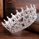 Vintage Baroque Queen King Bride Tiara Crown For Women Headdress Prom Bridal <b>Wedding</b> Tiaras and Crowns Hair <b>Jewelry</b> Accessories