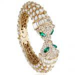 Bella <b>Fashion</b> White Panther Leopard Kiss Bangles & Bracelets Austrian Crystal Animal Bangle Cuff For Women Party <b>Jewelry</b> Gift