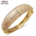 Dreamcarnival 1989 Big Bracelet For Women Rhodium Gold Color Bridal <b>Wedding</b> <b>Jewelry</b> Luxury Elegant Pulseras Mujer Bangle YB0708