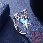 925 Sterling Silver Cat Cute Rings for Women Christmas Gift Her Finger Ring Animal <b>Jewelry</b> Real Pure 925 Sterling Silver SC07