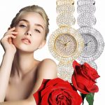 Golden <b>Silver</b> Rose Gold Famous Brand Designer Contena Ladies Watches Rhinestone Full Diamonds Women Dress Watches