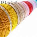 About the Fit TA 3.0mm 4M Milan Silk Cords String Crafts Thread <b>Jewelry</b> <b>Accessories</b> Strap Ropes For Bracelet Making Woven Lacing