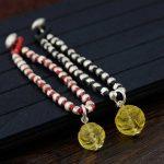 FNJ 925 <b>Silver</b> Bracelet Bead 18.5cm Chain Black Red String Pixiu Charm Thai S925 <b>Silver</b> Bracelets for Women <b>Jewelry</b>